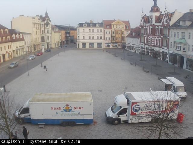 Marktplatz Finsterwalde » Webcam und aktuelles Wetter in Finsterwalde.